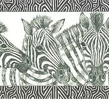 Zebra Talk by Catherine  Howell
