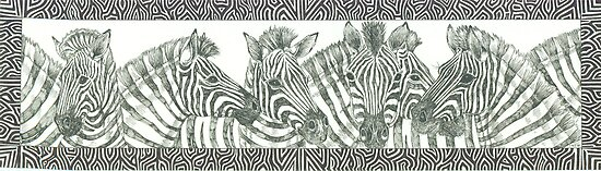 Zebra Talk by Catherine  Howell