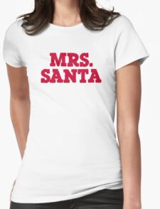 Mrs Santa Claus christmas T-Shirt
