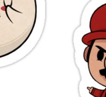 Boo and Mario Sticker