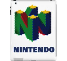 Nintendo Logo - Colour  iPad Case/Skin