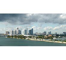 Miami View Photographic Print
