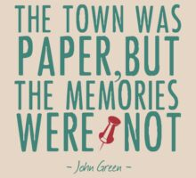 """Paper Towns - """"The Memories Were Not"""" by CuteCrazies"""