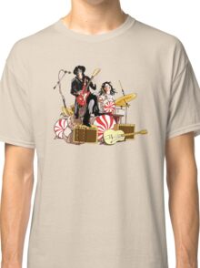 White Stripes Duo Classic T-Shirt