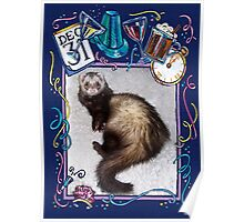 Happy New Year Ferret!! Poster