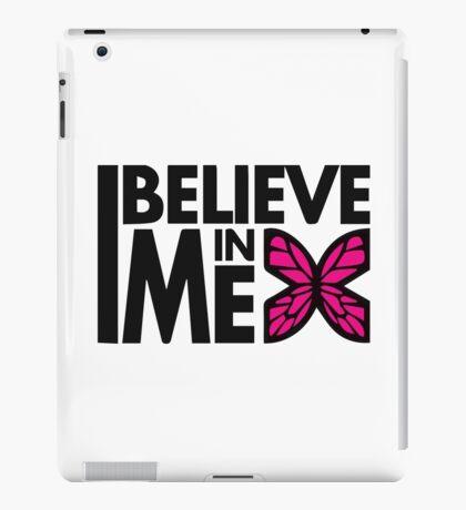 GOWOMAN SLOGAN TEES | I Believe In Me (Original) iPad Case/Skin