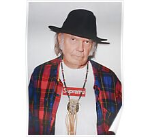 Neil Young for Supreme Media Cases, Pillows, and More. Poster
