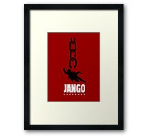 JANGO UNCLONED Framed Print