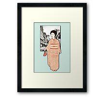 Japanese Line Framed Print