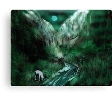 Out of Space of Time Canvas Print
