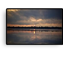 Sunrise Melt Canvas Print