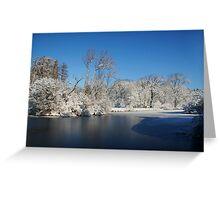 Winter Scene 2 Greeting Card