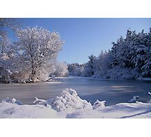 Winter Scene 3 Photographic Print