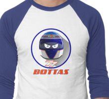 VALTTERI BOTTAS_2015_HELMET #77 Men's Baseball ¾ T-Shirt
