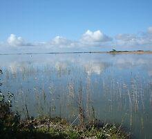 Clouds over Lake Alexandrina by kayinga