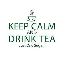 Keep Calm and Drink Tea ~ Burketeers MUG by burketeer
