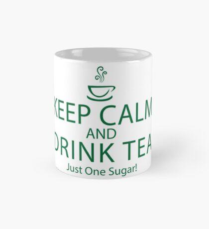 Keep Calm and Drink Tea ~ Burketeers MUG Mug