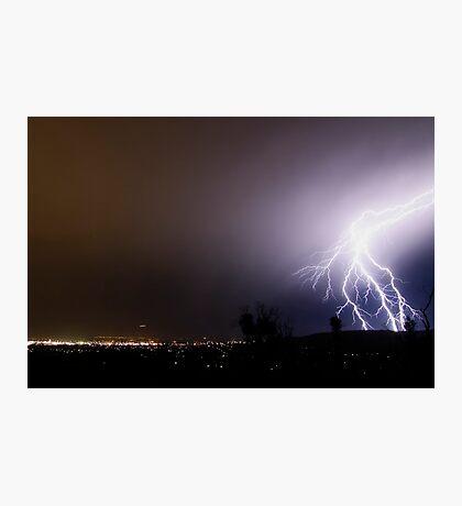 Fork Lightning Photographic Print
