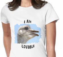 I Am Lovable Womens Fitted T-Shirt