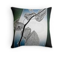 seed pods 2 Throw Pillow