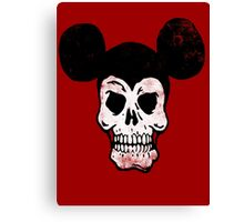 Mickey Skull. Canvas Print