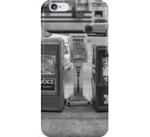 New York Street News iPhone Case/Skin