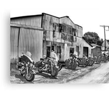 The Poker Run Canvas Print