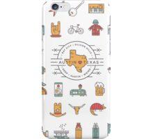 Austin Texas Essentials iPhone Case/Skin