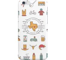 Austin Texas Essentials iPhone Case/Skin