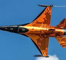 Dutch F-16 2012 Solo Demonstrator by Colin Smedley