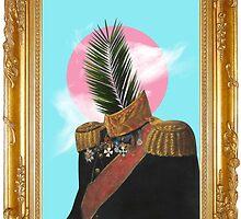 PALM MAN (Framed). by taudalpoi