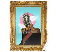 PALM MAN (Framed). Poster
