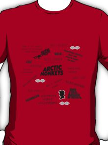 Arctic Monkeys Collage T-Shirt