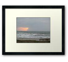Cocoa Beach, Early AM Framed Print