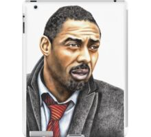 Idris Elba plays Luther iPad Case/Skin