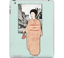 Japanese Line iPad Case/Skin