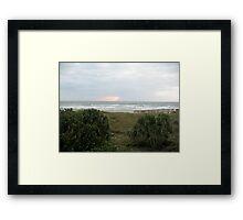Cocoa Beach, Early AM 2 Framed Print