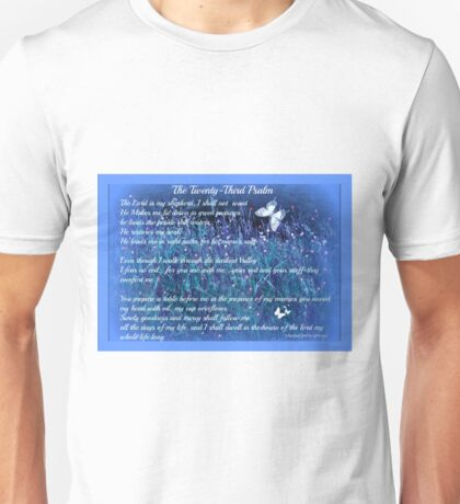 The Twenty Third Psalm by Sherri Nicholas Unisex T-Shirt