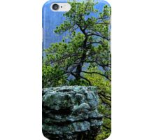 Pine View, Kings Bluff Pedestal Rock, NW Arkansas. iPhone Case/Skin