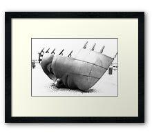 Maritime Rememberance Art Framed Print