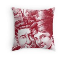 Mia moglie ed io in Venezia.  Throw Pillow