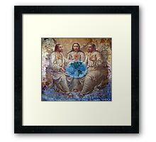 The Creation week Framed Print