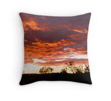 Karijini Sunset Throw Pillow