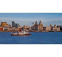 Royal Iris on the Mersey Photographic Print