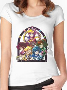 Sailor Moon S (Universe edit.) Women's Fitted Scoop T-Shirt