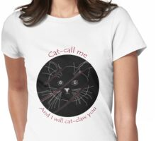 Cat Claws Womens Fitted T-Shirt