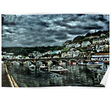Bridge at Looe Too Poster