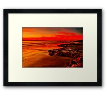 """Twilight Glory"" Framed Print"