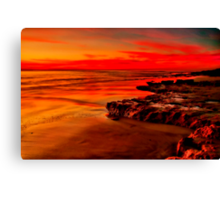 """Twilight Glory"" Canvas Print"