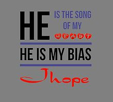 HE IS MY BIAS Jhope - Grey by Kpop Seoul Shop